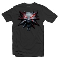 The Witcher 3 - Medallion - Men's Tee - Grey (XX-Large) - Cover