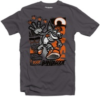 Crash Bandicoot - High Four - Men's Tee - Grey (Large) - Cover