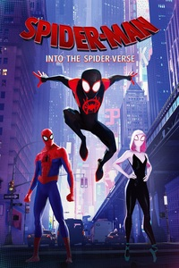 Spider-Man: Into The Spider-Verse (Blu-ray) - Cover