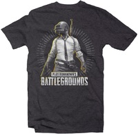 PUBG - Level 3 Men's Tee - Charcoal Melange (X-Large) - Cover