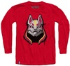 Fortnite - Drift Mask Teen Long Sleeve - Red (11-12 Years) (Medium)