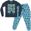 Fortnite - Skull Trooper - Teen Pyjamas - Navy/Blue (9-10 Years) (Small)