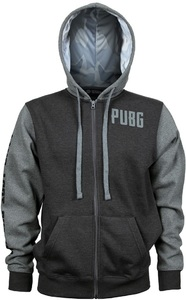PUBG - Level 3 Hoodie - Charcoal/Grey (Large) - Cover