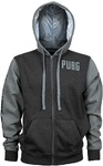 PUBG - Level 3 Hoodie - Charcoal/Grey (Large)