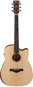 Ibanez AW150CE-OPN Artwood Traditional Series Dreadnought Acoustic Electric Guitar (Open Pore Natural) - Cover