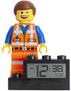 Lego Movie 2 - Emmet Figure Clock (On Base)