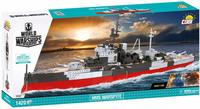 Cobi - World of Ships - HMS WARSPITE (1050 Pieces) - Cover