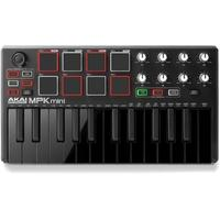 AKAI MPK Mini MKII 25 Key Compact USB MIDI Controller with Pads (Black)