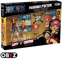 Abysse - One Piece - Luffy & Chopper 12cm Figure Pack (Figures) - Cover