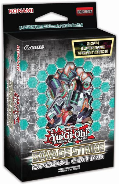 Yu-Gi-Oh! - Savage Strike Special Edition Single Booster (Trading Card Game)