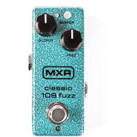 MXR M296 Classic 108 Fuzz Mini Vintage Fuzz Electric Guitar Effects Pedal