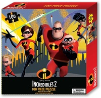 The Incredibles 2 - Tuck Box Puzzle (100 Pieces) - Cover