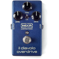 MXR CSP036 IL Diavolo Overdrive Electric Guitar Effects Pedal (Blue)