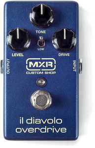MXR CSP036 IL Diavolo Overdrive Electric Guitar Effects Pedal (Blue) - Cover