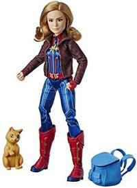 Captain Marvel - Deluxe Hero Doll and Goose the Cat - Cover