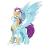 My Little Pony - The Movie Stratus Sky ranger Hippogriff Guard Figure