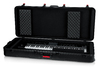 Gator GTSA-KEY76D TSA Series ATA Molded Polyethylene 76-Key Keyboard Case with TSA Approved Laches (Black)