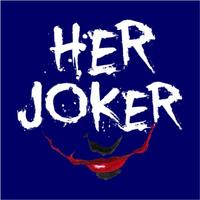 Her Joker Mens T-Shirt Navy (Small)