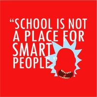 Not For Smart People Mens T-Shirt Red (XXX-Large)
