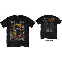 Bob Marley - Kaya Tour Mens Black T-Shirt (XX-Large) - Cover