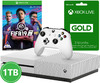 Microsoft - Xbox One S 1TB Console - Includes FIFA 19 + 3 Months Live (White)
