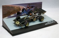 Formula 1: The Car Collection - Lotus Ford 72D - Emerson Fittipaldi - P1 - Great Britain GP - 1972 (Die Cast Model) - Cover