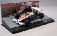 Formula 1: The Car Collection - Toleman TG184 - Ayrton Senna - P9 - Great Britain GP - 1984 (Die Cast Model) - Cover