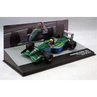 Formula 1: The Car Collection - Jordan Ford 191 - Roberto Moreno - P10 - Italy GP - 1991 (Die Cast Model)
