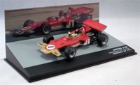 Formula 1: The Car Collection - Lotus Ford 72D - Emerson Fittipaldi - P6 - Germany GP - 1971 (Die Cast Model) - Cover