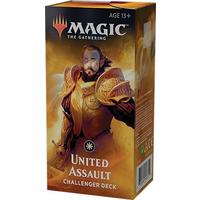 Magic: The Gathering - Challenger Deck 2019 - United Assault (Trading Card Game)