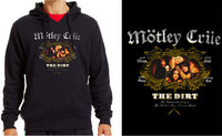 Mötley Crüe - The Dirt Unisex Black Hoodie (Large) - Cover
