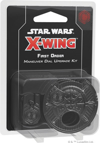Star Wars: X-Wing Second Edition - First Order Maneuver Dial Upgrade Kit (Miniatures) - Cover