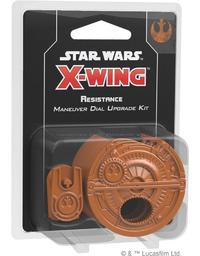 Star Wars: X-Wing Second Edition - Resistance Maneuver Dial Upgrade Kit (Miniatures) - Cover