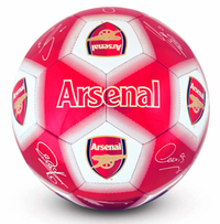 Arsenal F.C. - Signature Football - Size 5 - Cover