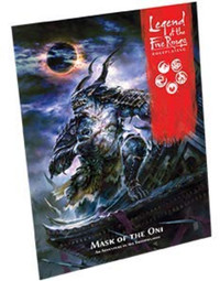 Legend of the Five Rings - Mask of the Oni (Role Playing Game)