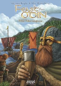 A Feast For Odin - The Norwegians Expansion (Board Game) - Cover