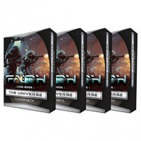 FAITH: Core Book - The Universe - Player Deck - Pack of 4 Player Decks (Role Playing Game) - Cover