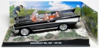 The James Bond Car Collection - 1/43 - Dr. No - Chevrolet Bel Air (Die Cast Model) - Cover