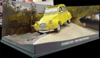 The James Bond Car Collection - 1/43 - For Your Eyes Only - Citroen 2CV (Die Cast Model) - Cover