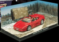 The James Bond Car Collection - 1/43 - Goldeneye - Ferrari F355 GTS (Die Cast Model) - Cover