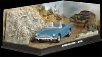 The James Bond Car Collection - 1/43 - Dr. No - Sunbeam Alpine (Die Cast Model) - Cover