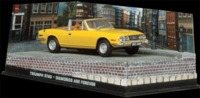 The James Bond Car Collection - 1/43 - Diamonds Are Forever - Triumph Stag (Die Cast Model) - Cover