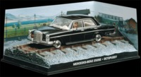 The James Bond Car Collection - 1/43 - Octopussy - Mercedes-Benz 250SE (Die Cast Model) - Cover