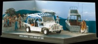 The James Bond Car Collection - 1/43 - Live and Let Die - Mini Moke (Die Cast Model) - Cover