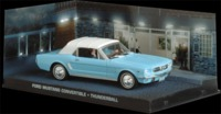 The James Bond Car Collection - 1/43 - Thunderball - Ford Mustang Convertible (Die Cast Model) - Cover