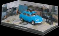 The James Bond Car Collection - 1/43 - Goldeneye - ZAZ-965A (Die Cast Model) - Cover