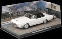 The James Bond Car Collection - 1/43 - Goldfinger - Ford Thunderbird (Die Cast Model) - Cover