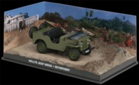The James Bond Car Collection - 1/43 - Octopussy - Willy's Jeep M606 (Die Cast Model) - Cover