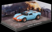 The James Bond Car Collection - 1/43 - Die Another Day - Ford GT40 (Die Cast Model) - Cover