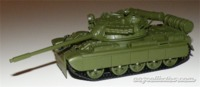 The James Bond Car Collection - 1/43 - Goldeneye - T-55 Tank (Die Cast Model) - Cover